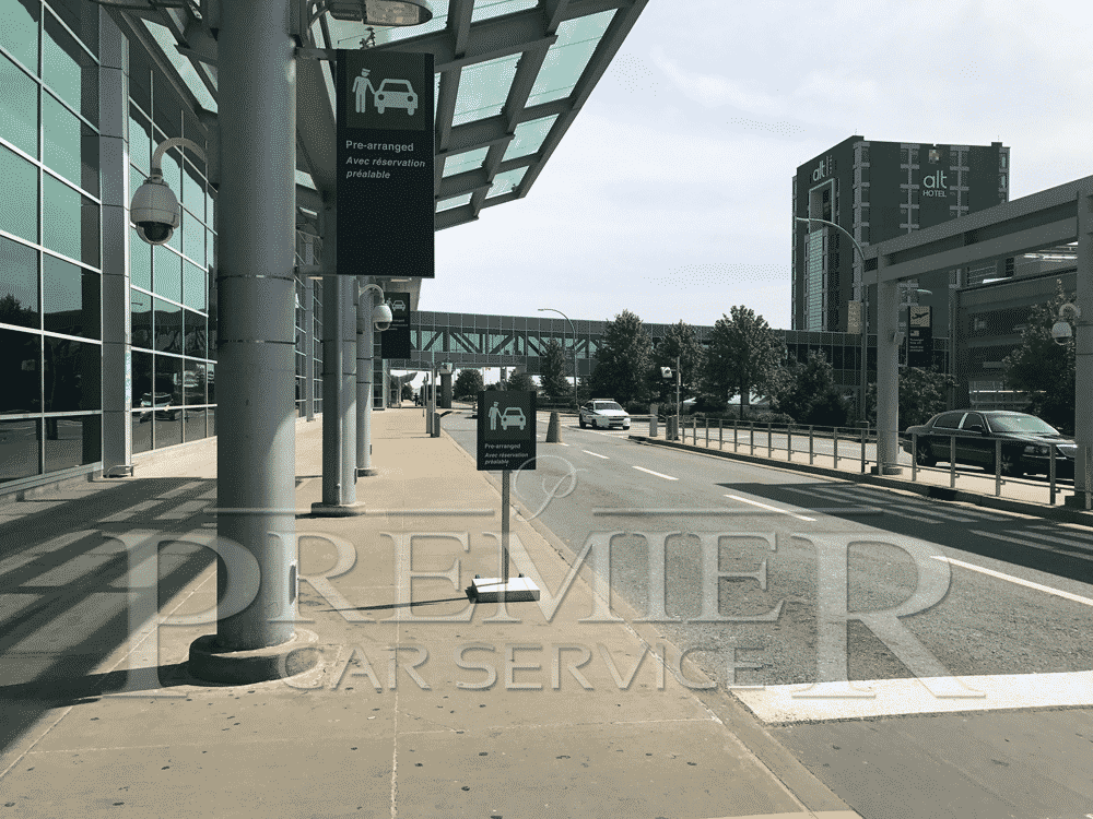 Halifax Airport Prearranged Pickup Area