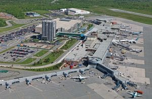 Halifax Stanfield Airport aerial view
