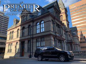 Halifax City Hall - Premier Car Service - Cadillac Escalade SUV - Halifax Airport Taxi Limo Service