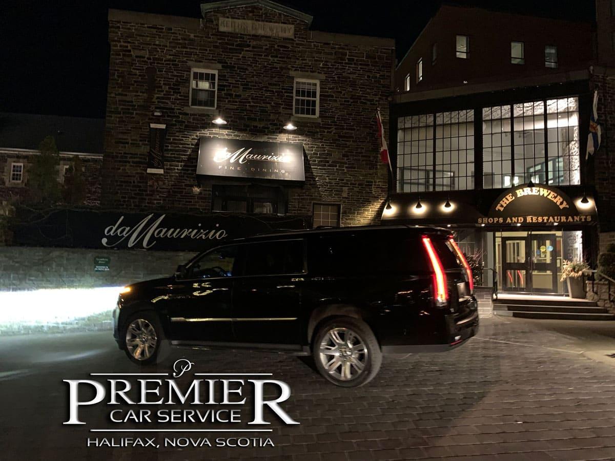 DaMaurizio - Premier Car Service - Cadillac Escalade SUV - Halifax Airport Taxi Limo Service
