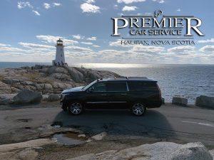Peggy's Cove Tour - Premier Car Service - Cadillac Escalade SUV - Halifax Airport Taxi Limo Service