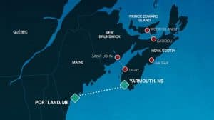 Yarmouth Ferry to Halifax Airport
